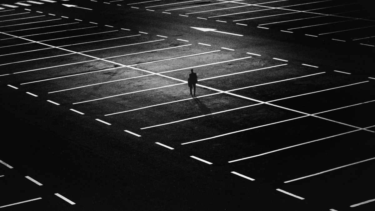 On: Parking lotcourtesy